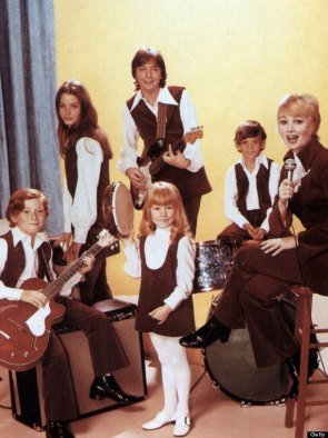 Photo of David CASSIDY and PARTRIDGE FAMILY